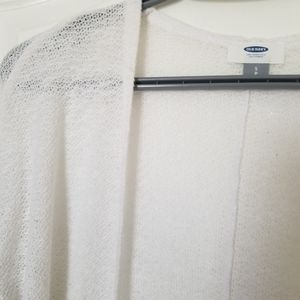 Old Navy Sweaters - Old Navy Knit Cardigan white S